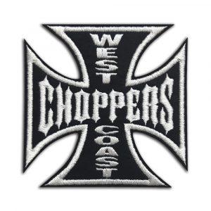 West Coast Choppers, biker cross patch