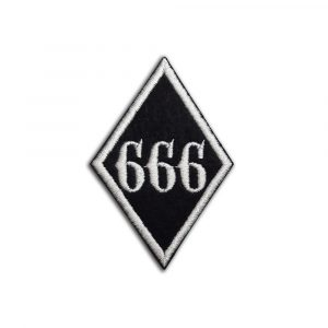 666 Friends Family Forever patch