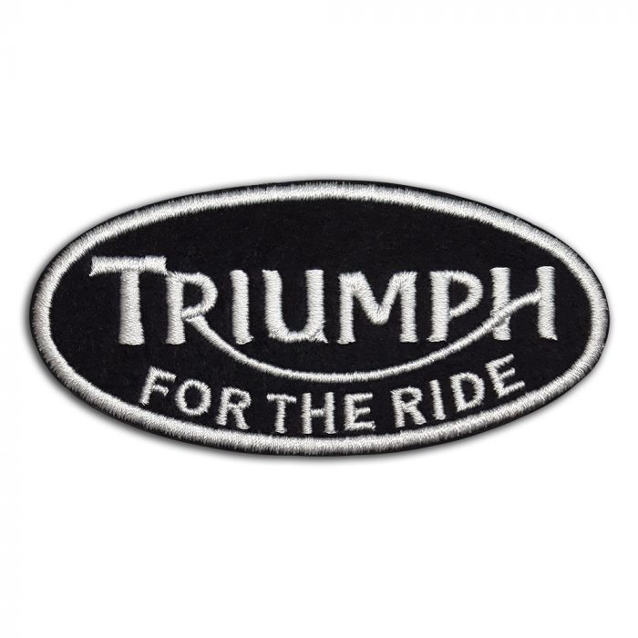 Triumph For The Ride patch