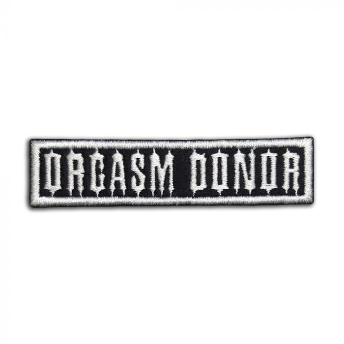 Orgasm donor patch