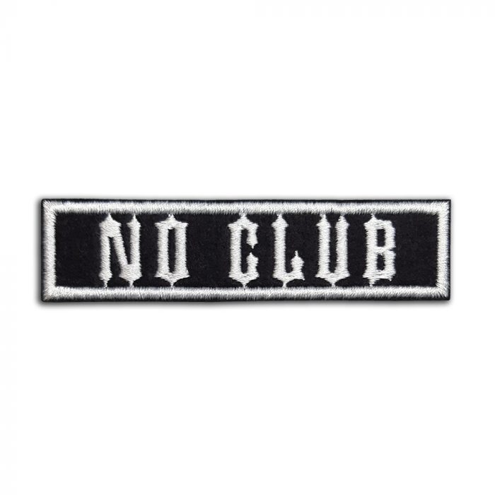 No Club patch