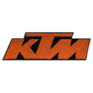 KTM logo patch