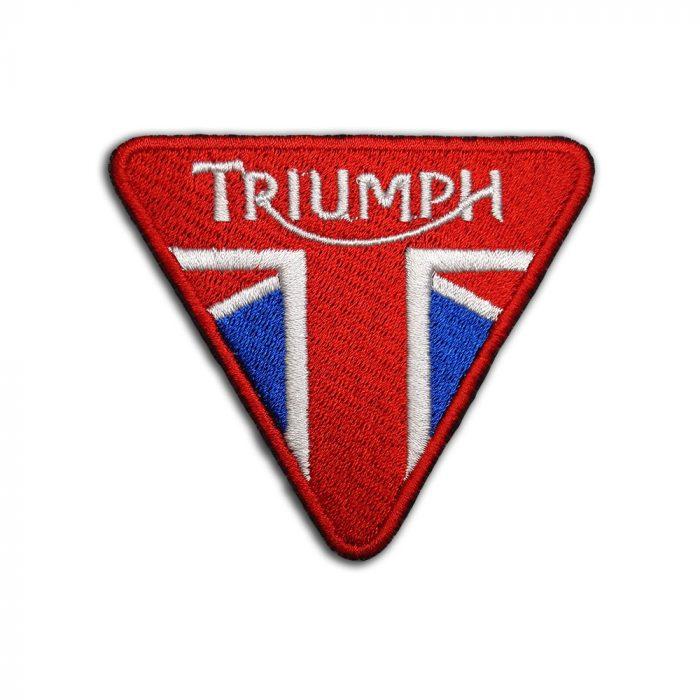 Triumph logo red patch