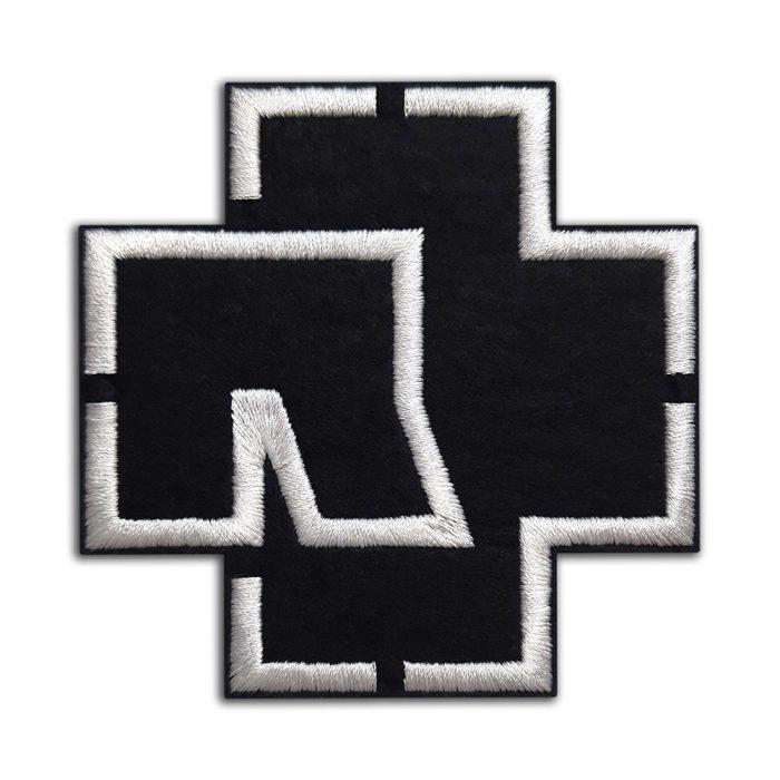 Rammstein logo patch