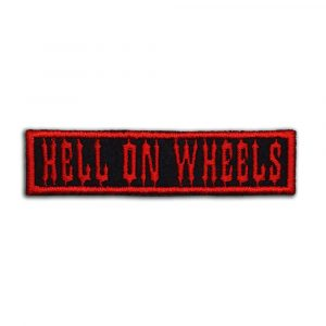 Hell on wheels patch