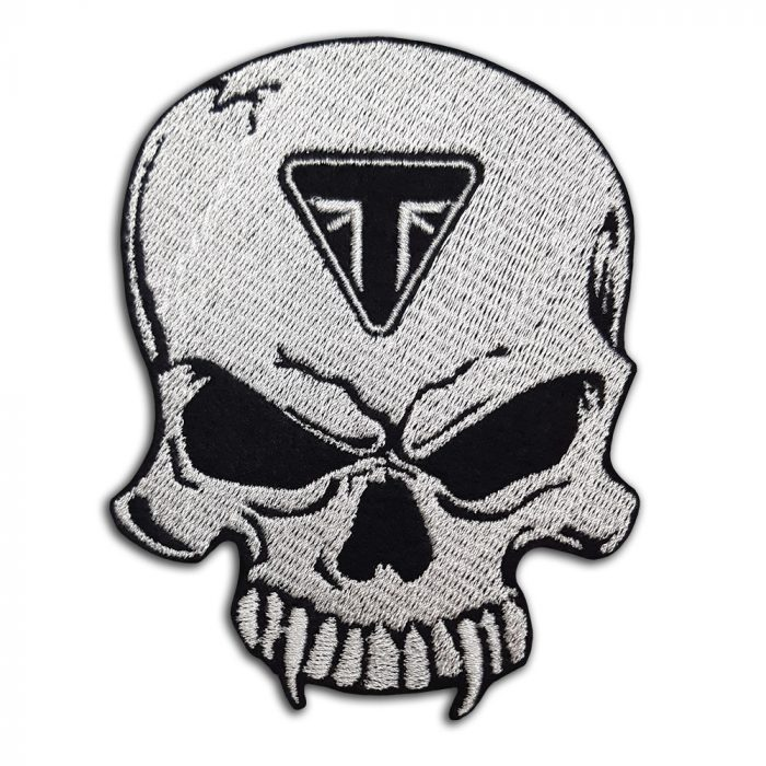 Triumph Skull patch