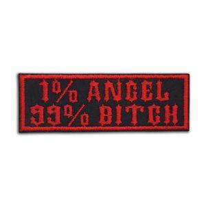1% Angel 99% Bitch patch
