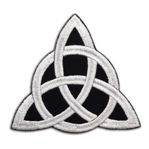 Celtic knot patch