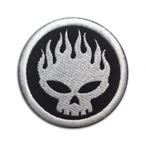 The Offspring logo patch