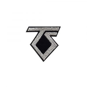 Twisted Sister logo small patch