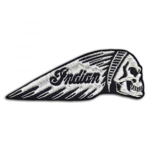 Indian motorcycle skull patch