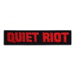 Quiet Riot patch