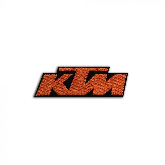 KTM logo small patch