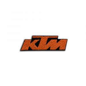 KTM logo small patch