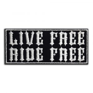Live Free Ride Free patch