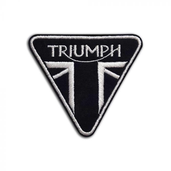 Triumph motorcycle logo patch