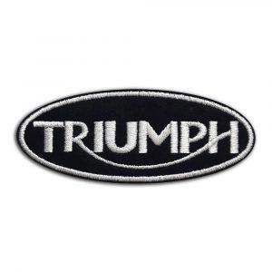 Triumph motorcycle patch