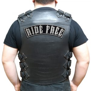 Ride Free large back patch