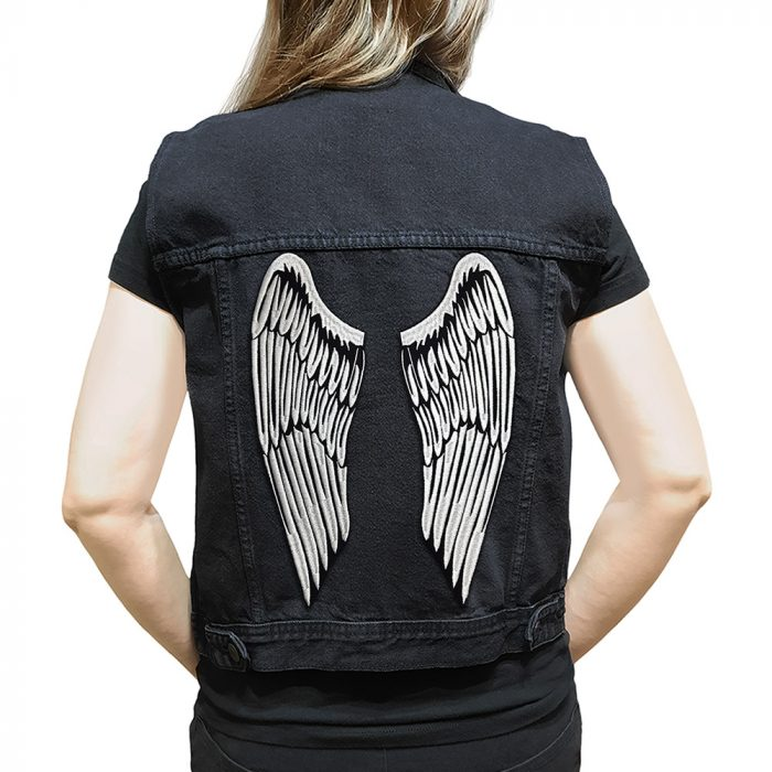 Wings large back patch