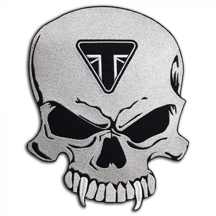 Triumph Skull large back patch