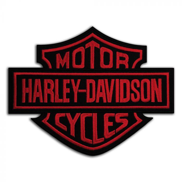 Harley-Davidson logo large back patch