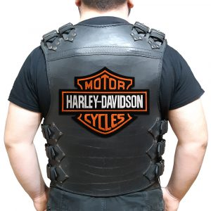 Harley-Davidson logo large back patch