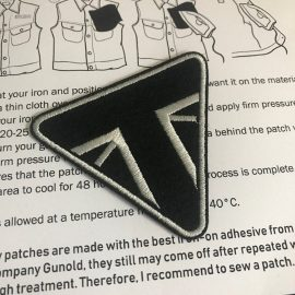 Triumph motorcycle patch