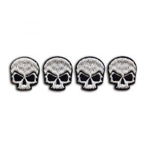 Set of 4 small skulls patch
