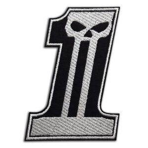 Harley-Davidson number one patch