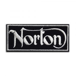 Norton motorcycle patch