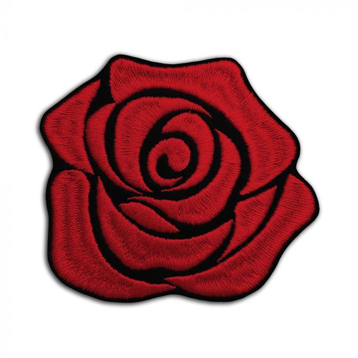 Flower rose patch