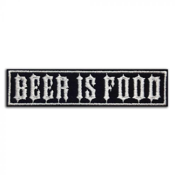 Beer is food patch