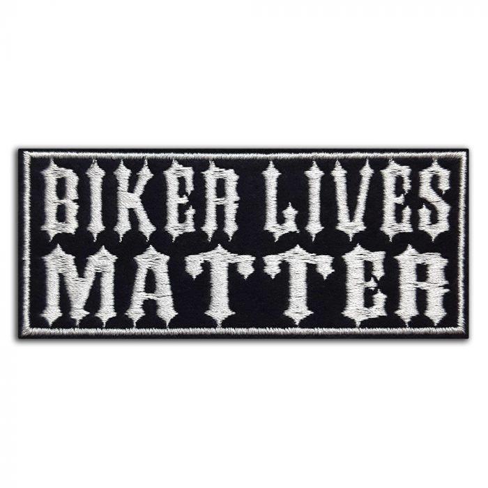 Biker lives matter patch